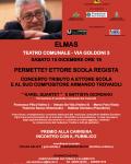 Concerto tributo a Ettore Scola e al suo compositore Armando Trovaioli